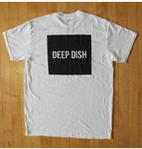 DEEP DISH Deep Dish Block Logo T-Shirt - White