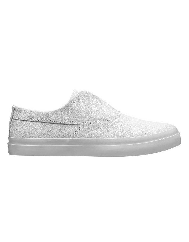 Huf Worldwide Huf Dylan Slip - White Leather (Size 12)