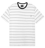Huf Worldwide Huf Mini Stripe Pocket T-shirt - White/Black