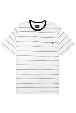 Huf Worldwide Huf Mini Stripe Pocket T-shirt - White/Black