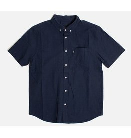 Huf Worldwide Huf Madison s/s woven shirt - Navy