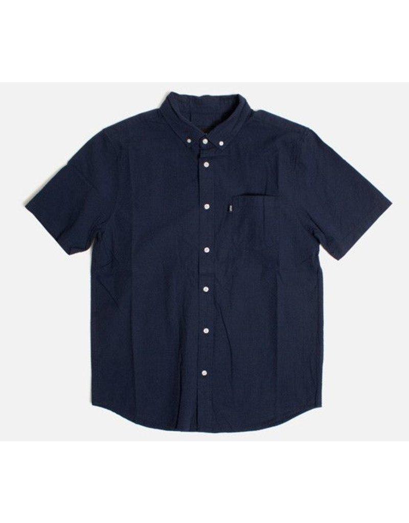 Huf Worldwide Huf Madison s/s woven shirt - Navy