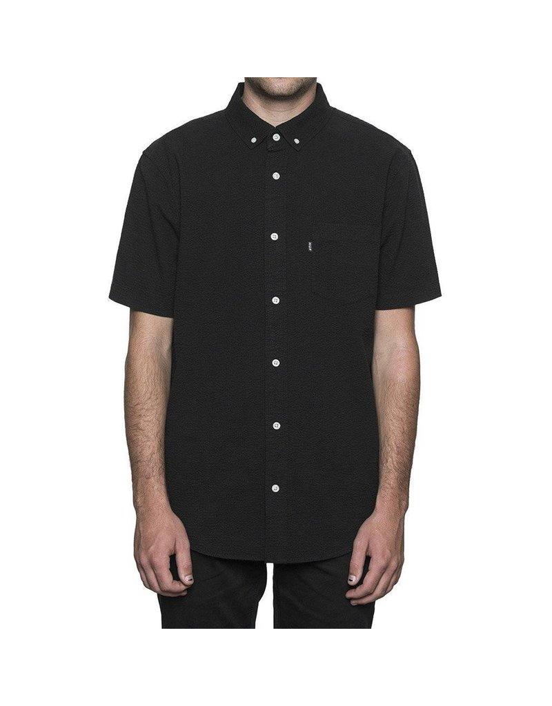 Huf Worldwide Huf Madison s/s woven shirt - Black