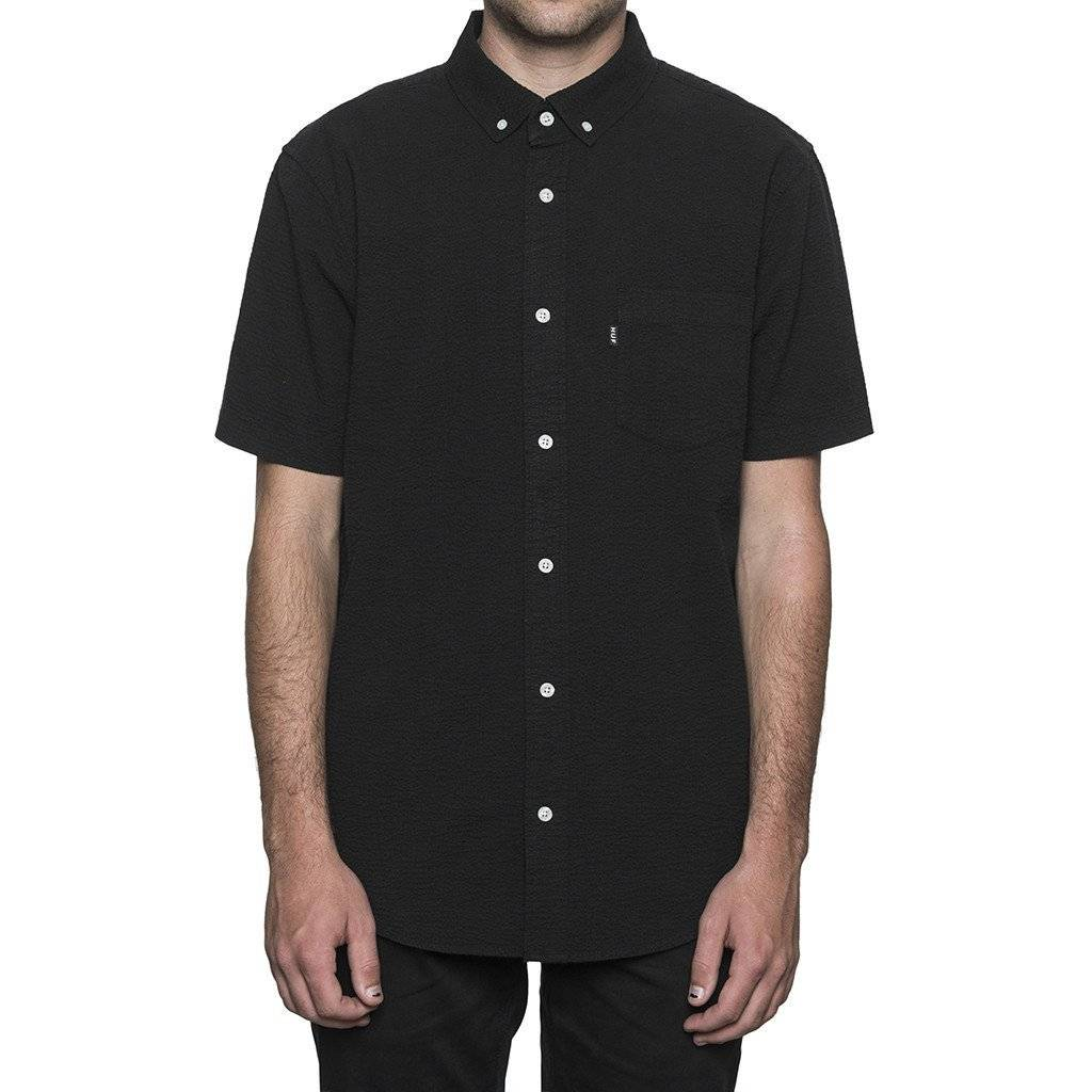 Huf Worldwide Huf Madison s/s woven shirt - Black