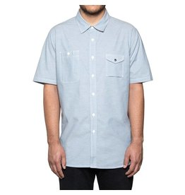 Huf Worldwide Huf Smoke Pocket s/s shirt - Blue