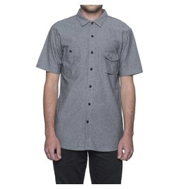 Huf Worldwide Huf Smoke Pocket s/s shirt - Black