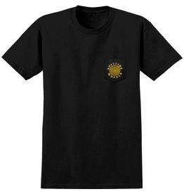 Spitfire Spitfire Classic Pocket T-shirt - Black/Yellow