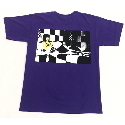 Beckyfactory Beckyfactory Amy's Bedroom T-shirt - Purple  (Large or X-Large)