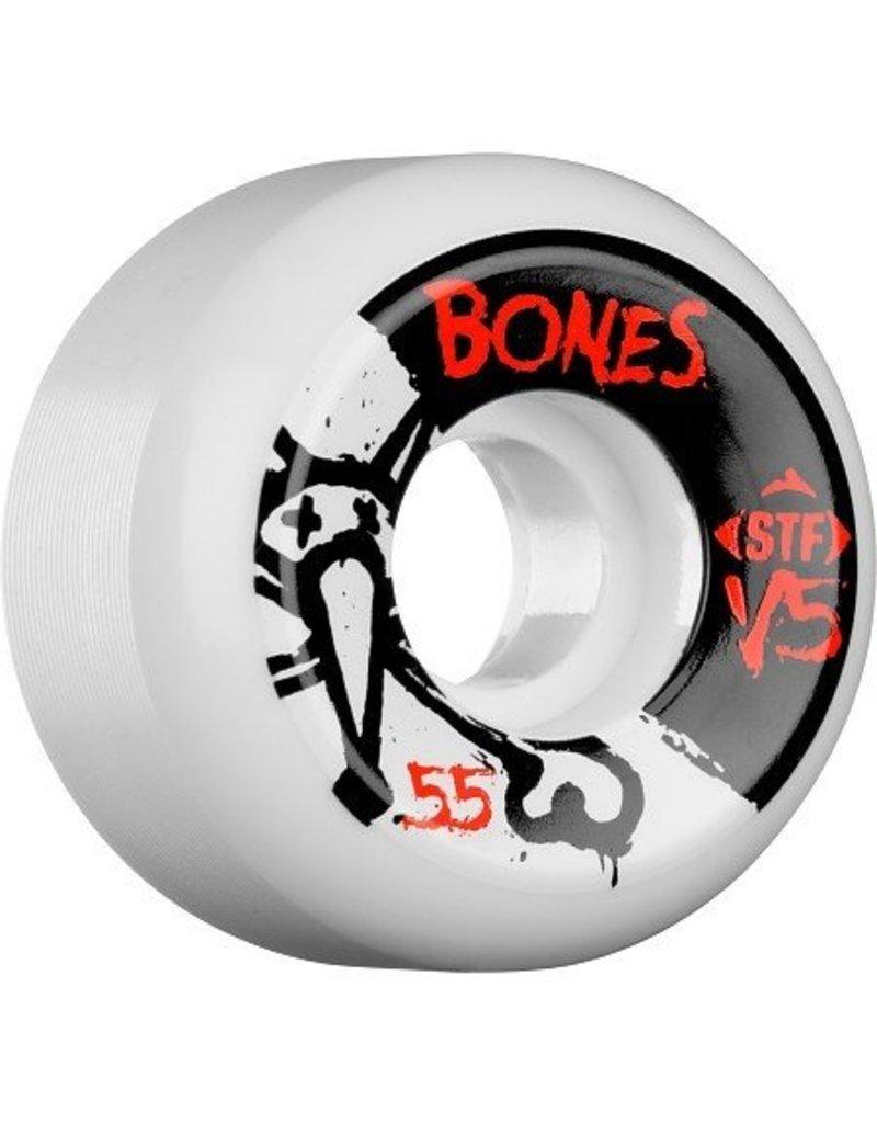 Bones Wheels Bones STF v5 55mm Wheels (set of 4)
