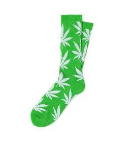 Huf Worldwide Huf Plantlife Crew Sock - Lime/White