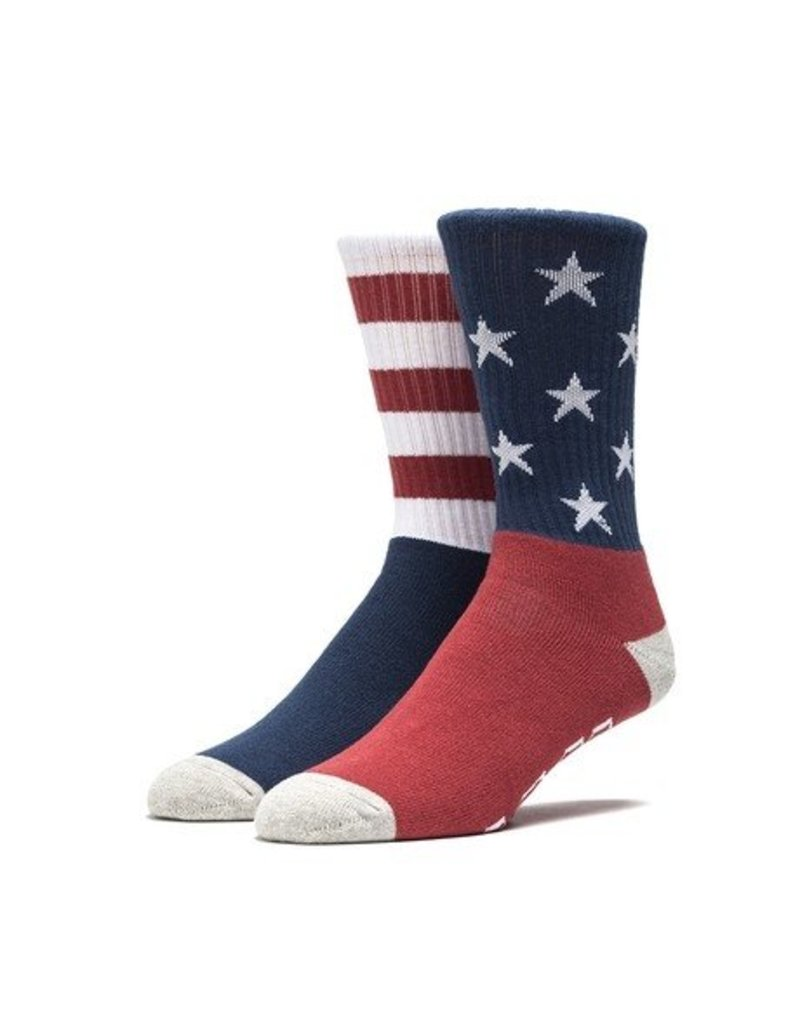 Huf Worldwide Huf All American Crew Sock