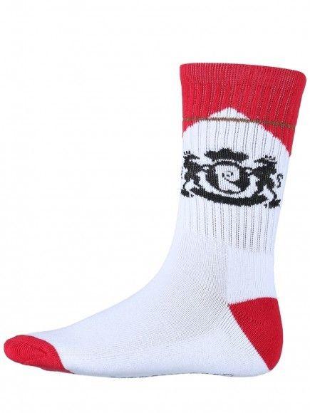Psockadelic Psockadelic Cig White/Red Socks