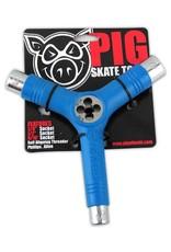 Pig Pig Tri-Socket Threader Skate Tool - Blue