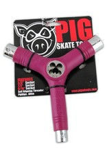 Pig Pig Tri-Socket Threader Skate Tool - Pink