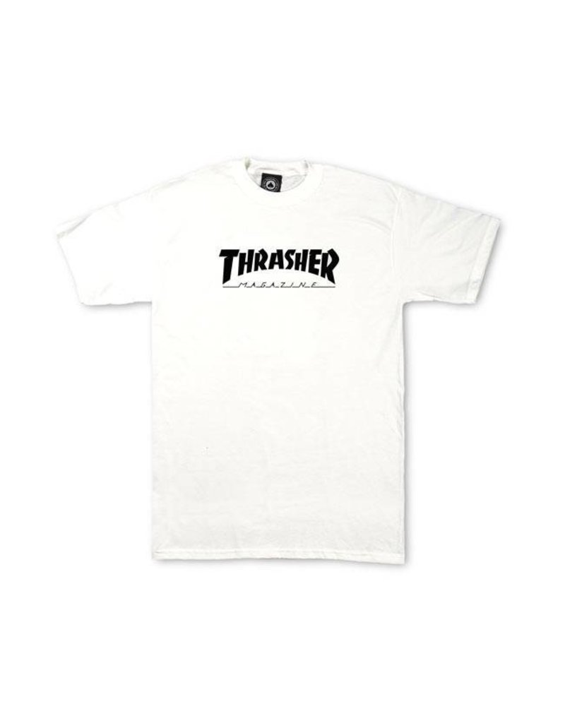 Thrasher Mag Thrasher Youth Skate Mag T-shirt - White