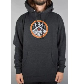 Cliche 101 Natas Devil Worship Hoodie - Charcoal Heather