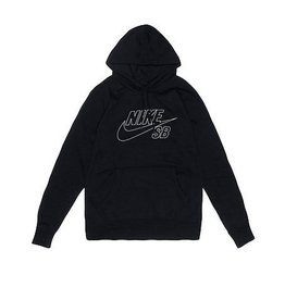 Nike SB Nike sb Fleece Reflective Pullover Hoodie - Black (Medium or Large)