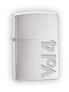 Vol 4 Vol 4 Brushed Chrome Zippo Lighter