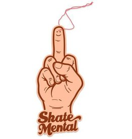 Skate Mental Skate Mental Smiley Finger Air Freshener