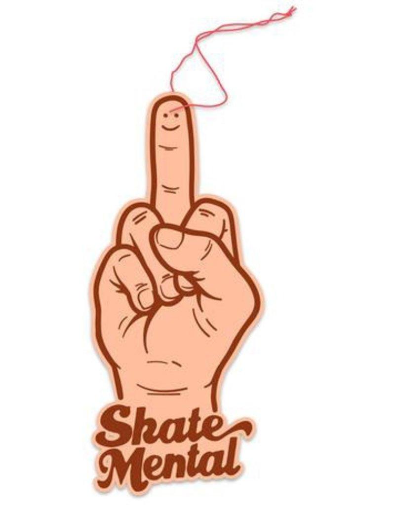 Skate Mental Skate Mental Smiley Finger Air Freshener