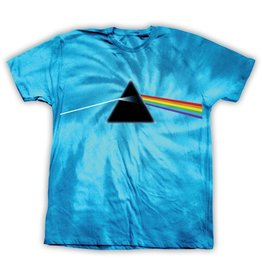 Habitat Habitat x Pink Floyd Dark Side of the Moon Tie Dye T-shirt - Turquoise