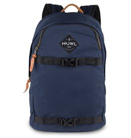 Howl Howl Session Skate Carrier Backpack - Navy
