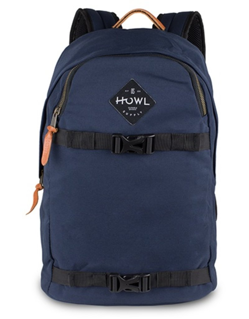 Howl Howl Session Skate Carrier Backpack - Navy