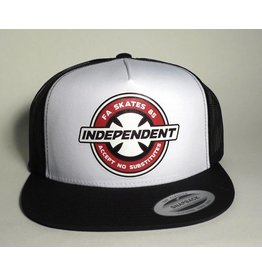 Independent FA Skates x Independent Accept No Substitutes Trucker Mesh Hat - White/Black