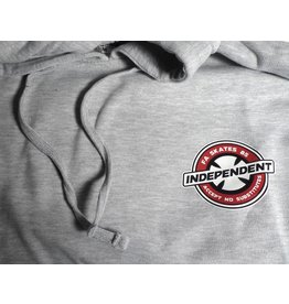 Independent FA skates x Independent accept no substitutes Hoodie - Grey (Medium)
