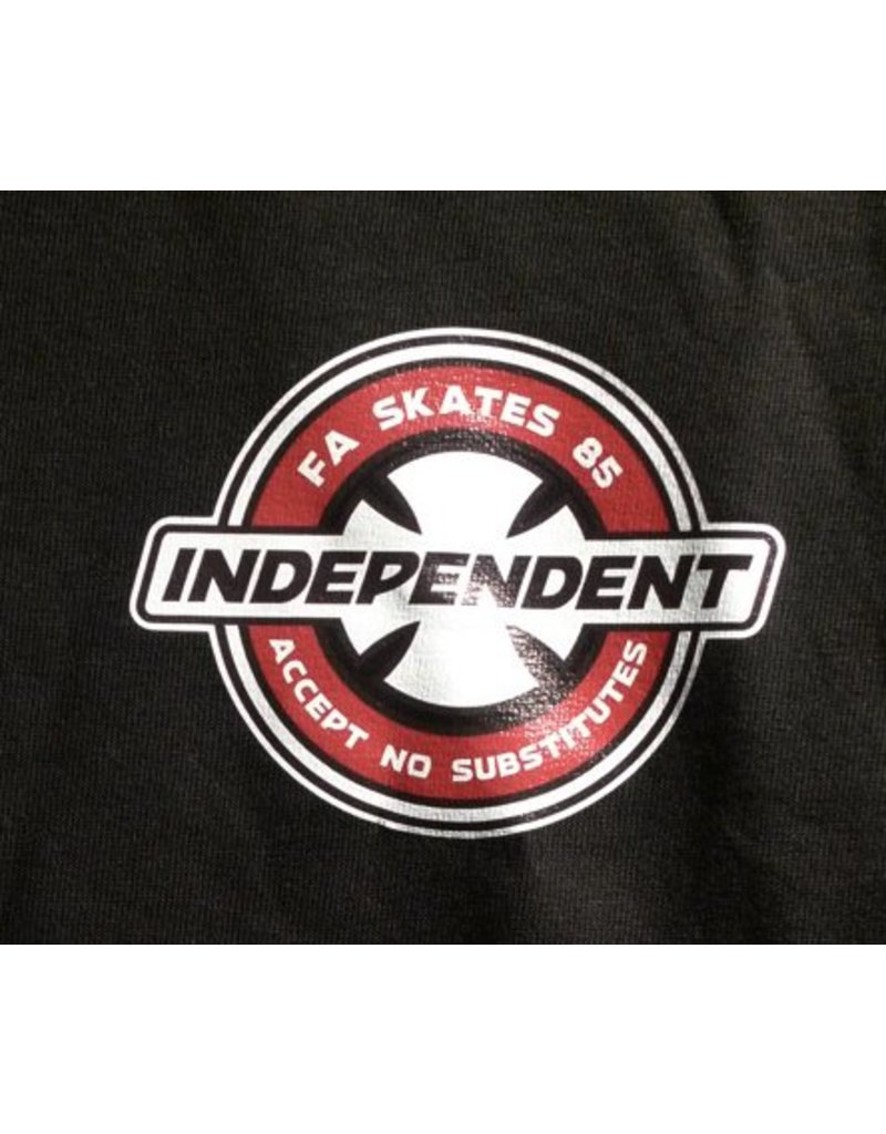 Independent FA skates x Independent accept no substitutes T-shirt - Black