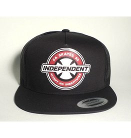 Independent FA Skates x Independent Accept No Substitutes Trucker Mesh Hat - Black