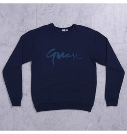 Quasi Quasi Century Crewneck - Navy (Medium)
