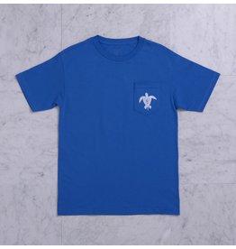 Quasi Quasi Crush Pocket T-shirt - Royal (size Large)