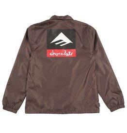 Emerica Emerica x Chocolate Dawbber Windbreaker Jacket - Brown