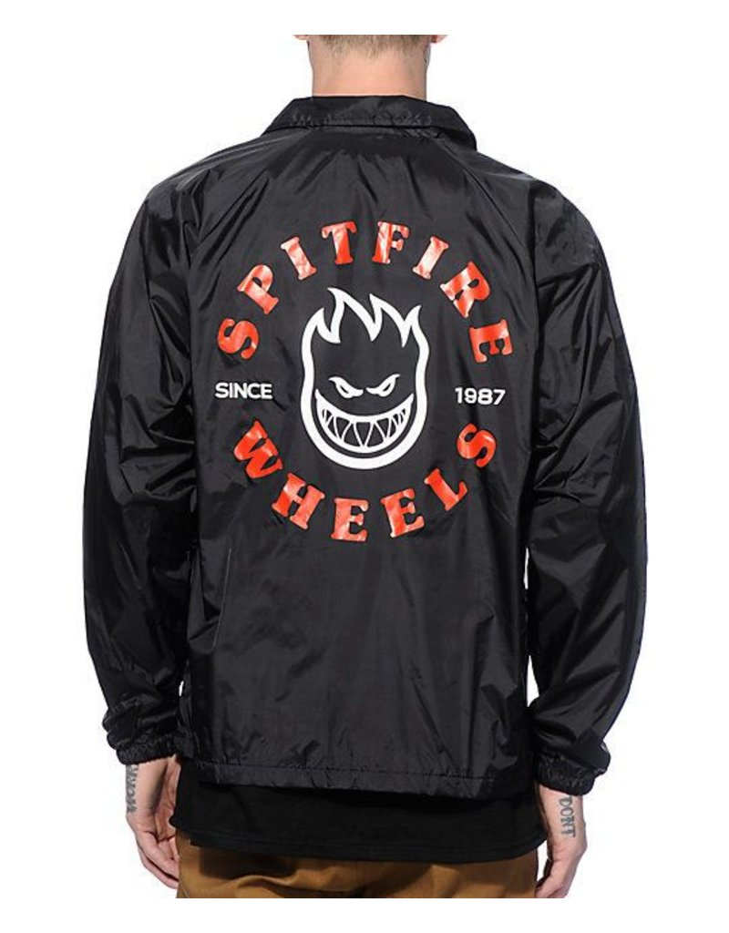 Spitfire Spitfire Classic Bighead Coaches Jacket - Black (size X-Large)