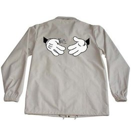 Doom Sayers Doom Sayers Cartoon Snake Shake Jacket - Khaki (size X-Large)