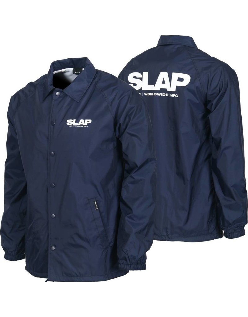 Huf Worldwide Huf x Slap Coaches Jacket - Navy