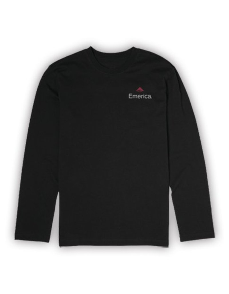 Emerica Emerica x Independent Longsleeve T-shirt - Black
