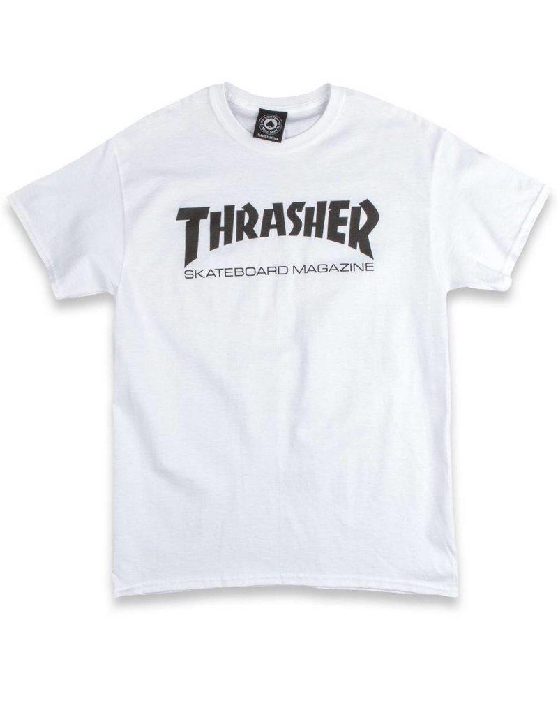 Thrasher Mag Thrasher Skate Mag Logo T-shirt - White
