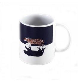 Magenta Magenta Tiger Mug