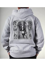 Theories Brand Theories Brand Initiation Hoodie - Heather Grey (X-Large)