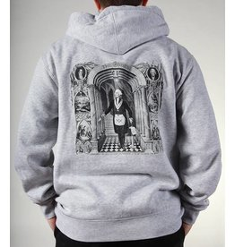Theories Brand Theories Brand Initiation Hoodie - Heather Grey