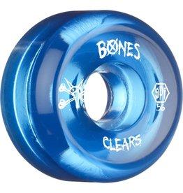 Bones Wheels Bones SPF v5 Clear Blue 56mm wheels (set of 4)