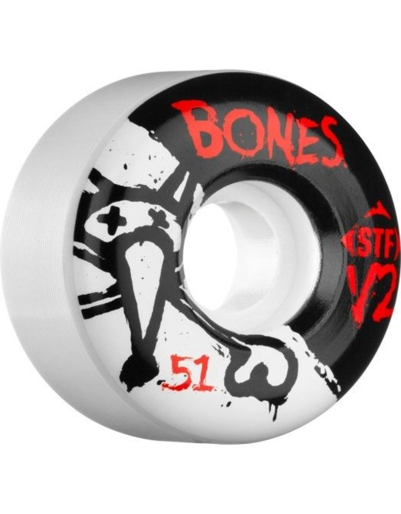 Bones Wheels Bones STF v2 51mm Wheels (set of 4)