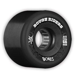 Bones Wheels Bones ATF Rough Riders Black 56mm Wheel (set of 4)