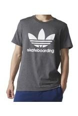 Adidas Adidas Clima 3.0 T-shirt - Dark Grey/White (size Small)