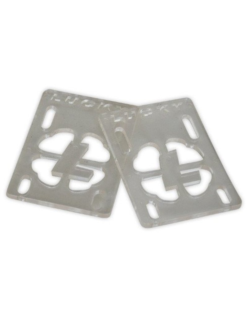 """Lucky Lucky Risers 1/8"""" - Clear (Set of 2)"""