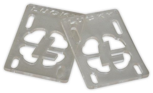 "Lucky Lucky Risers 1/8"" - Clear (Set of 2)"