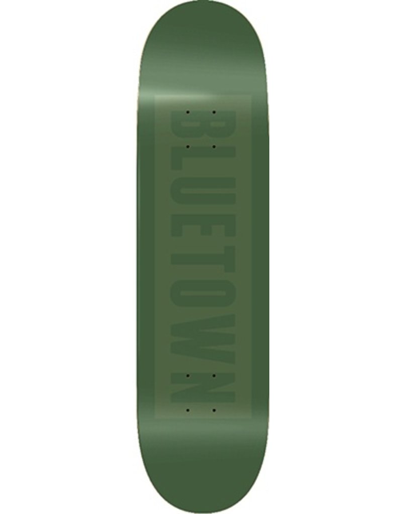 Bluetown Bluetown Team Green Tonal Deck - 8.12