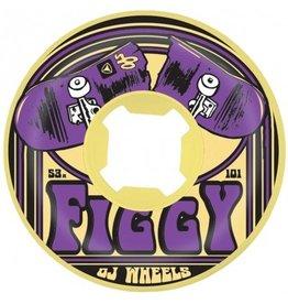 OJ wheels OJ 53mm Figgy Purps EZ edge101a wheels (set of 4)